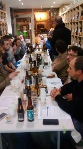 Cata de Cerveza en 3er Tiempo Tienda de Cervezas