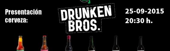 Presentación de cerveza Drunken Bros