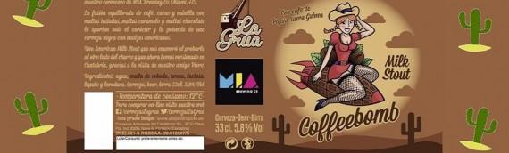 "Presentacion de Cerveza ""La Grua Coffeebomb"""