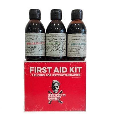 Cerveza La Calavera First Aid Medical Kit