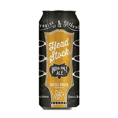 Cerveza Nickel Brook Head Stock