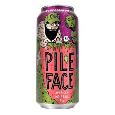 Cerveza Against the Grain Pile of Face